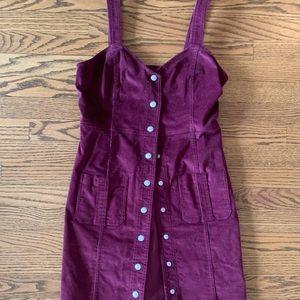 NWT Burgundy Cord Dress